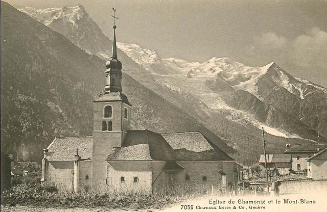Complètement et à l'extrême Les façades changeantes de l'église de Chamonix #QF_84