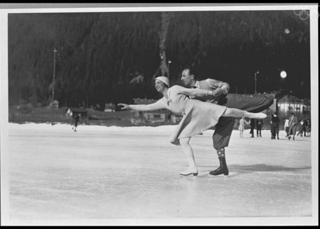 Lecouple Andrée Joly et Pierre Brunet : médaille de bronze