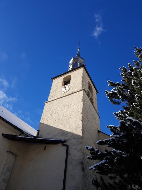 Super Le clocher de l'église de Chamonix…surprenant &NP_63