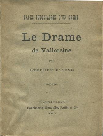 Le drame de Vallorcine raconté par Stephen d'Arve