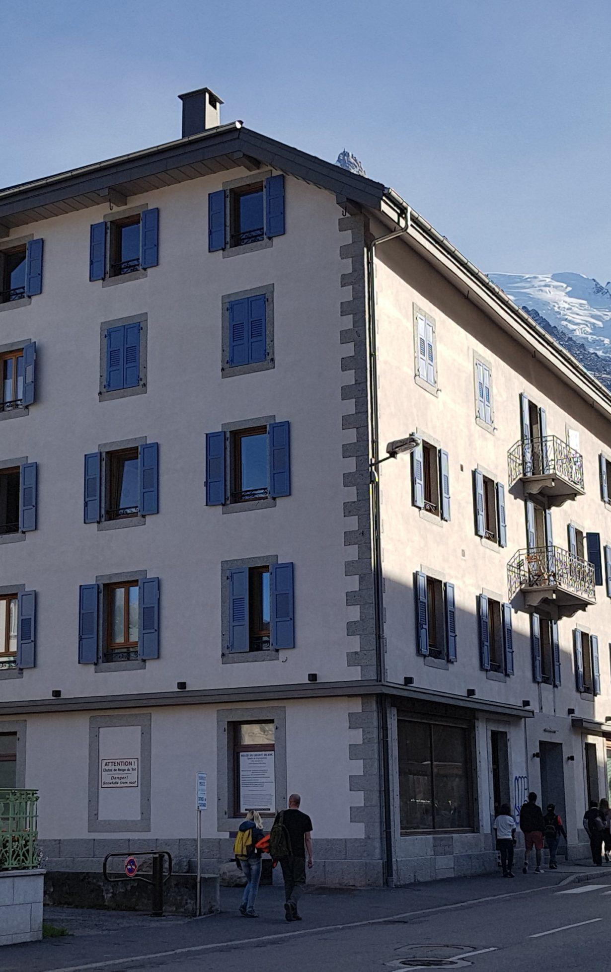 Ancien hôtel Bellevue rénové